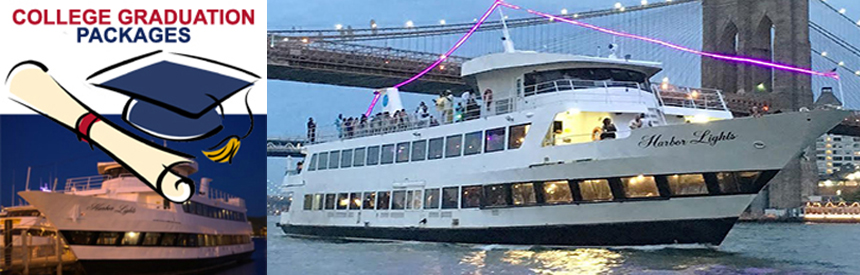 Celebrate your College Graduation with your friends on a Midnight Yacht Cruise